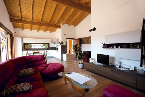 Interno case in legno casa in legno usata with interno for Case in legno griffner